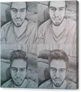Instagram Portrait Canvas Print