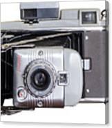 Instant Vintage Polaroid Camera Canvas Print