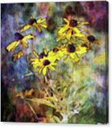 Intense Yellow 3227 Idp_2 Canvas Print
