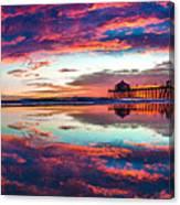 Intensity Panorama Canvas Print
