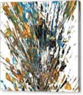Intensive Abstract Painting 519.112011 Canvas Print