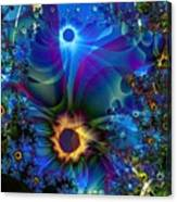Inter-dimensional Daisies Canvas Print