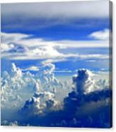 Interacting Clouds Canvas Print