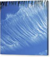 Interesting Clouds Over Phoenix Arizona Canvas Print