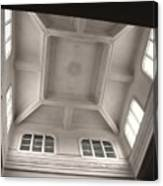 Interior Of A Japanese Colonial Building Canvas Print