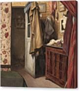 Interior Of The Artist's Studio Canvas Print