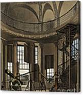 Interior Of The Radcliffe Observatory Canvas Print