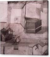 Interior Space Canvas Print
