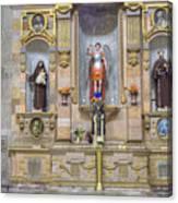 Interior View Of Church In Guanajuato Mexico Canvas Print