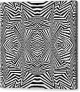 Interlinking Everything Canvas Print