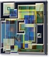 Interlocking 3 Canvas Print