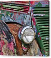 International Car Details Canvas Print