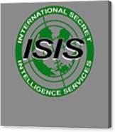 International Secret Intelligence Servrice Canvas Print