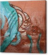 Interplay  - Tile Canvas Print