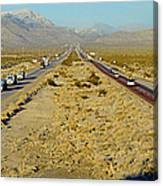 Interstate 15, Near Las Vegas, After Canvas Print