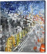 Interstate 495 Capital Beltway 201765 Canvas Print