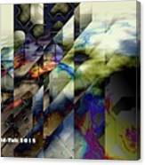 Interstellar Hacker Canvas Print