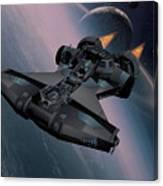 Interstellar Spacecraft Canvas Print