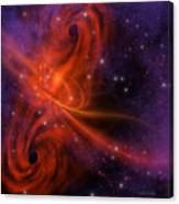 Interstellar Twister Canvas Print