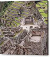 Intihuatana Pyramid Canvas Print