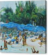 Intimacy on Vacation Canvas Print