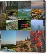 Intimate New England Landscape Photography Canvas Print