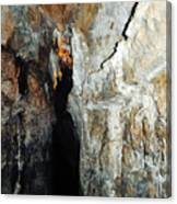 Into Crystal Cave Canvas Print