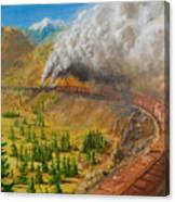 Into The Front Range Canvas Print