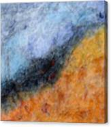 Into The Wind Abstract Canvas Print