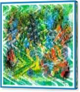 Intoxicating Peacock Canvas Print