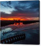 Intracoastal Sunset Canvas Print