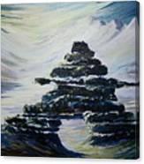 Inukshuk Canvas Print
