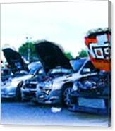 Invasion Of The Import Cars Canvas Print