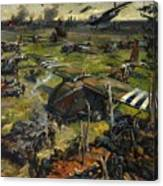 Invasion Scene Canvas Print
