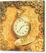 Invention Of Time Canvas Print