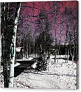 Invernal Landscape Canvas Print