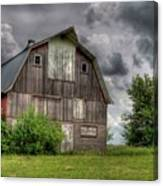Iowa Barn Canvas Print