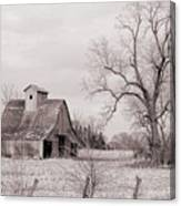 Iowa Farm Canvas Print