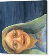 Iowa Lady Canvas Print