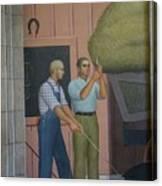 Iowa State Mural - 2 Canvas Print
