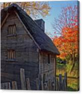 Ipswich Museum Autumn Tree Ipswich Ma Canvas Print