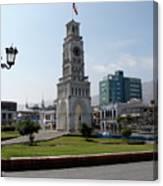 Iquique Chile Plaza Canvas Print