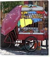 Iquique Chile Street Cart Canvas Print