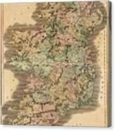 Ireland 1831 Canvas Print