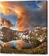 Ireland Lake Sunrise - Yosemite Canvas Print