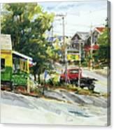 Irie Eats, Provincetown Canvas Print