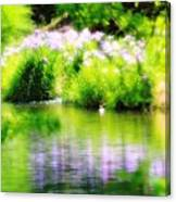 Iris' Reflection Canvas Print