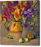 Iris Rhapsody Canvas Print