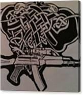 Irish Ak-74 Canvas Print