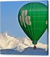 Irish Balloon Canvas Print